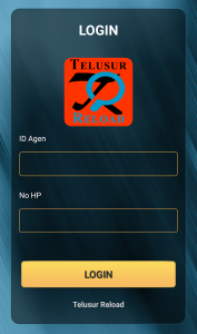 Login Aplikasi Telusur Reload